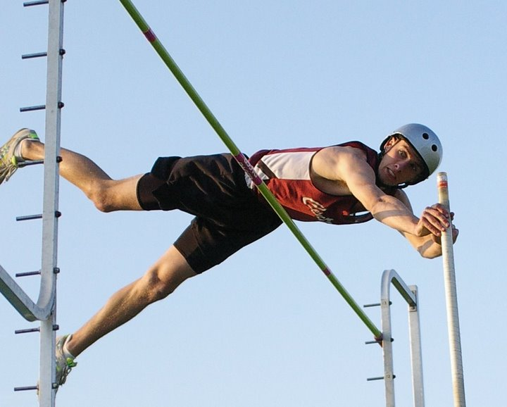 Central High School's Dan Simon. Photo by Dave Thoss