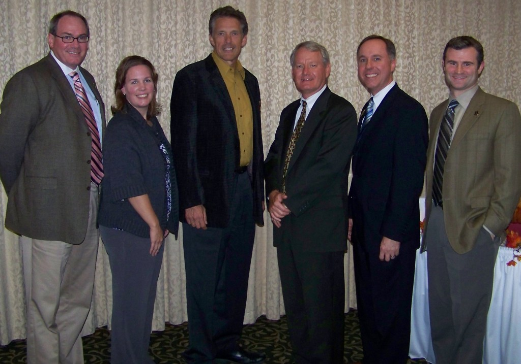 State Reps. Samantha Kerkman and Robin Vos recently met with Racine and Kenosha dentists. Pictured are (from left): Dr. James Fulmer, Kerkman, Dr. H. Michael Kaske (current president of the Wisconsin Dental Association), Dr. Gene Shoemaker (president-elect of the Wisconsin Dental Association), Vos and Dr. Lyndsay Knoell./Submitted photo