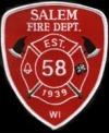 salem FD patch