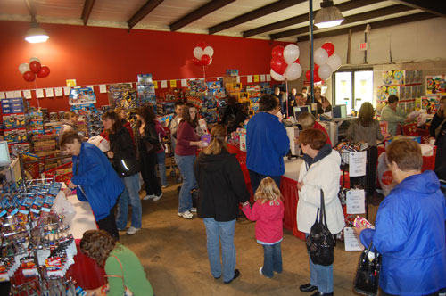 The new Mattel Toy Store was already hopping just about an hour after it opened its doors to the public for the first time.