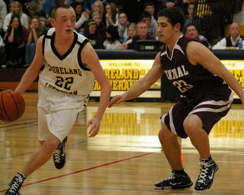Timmy Clark defends for Central. /David Thoss photo