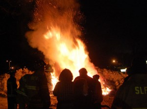 A scene from the 2010 12th Night celebration in Silver Lake.