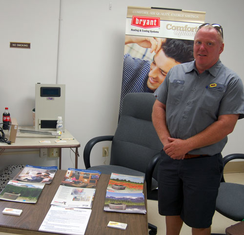Rick Sheehan of Reliable Heating and Air Conditioning