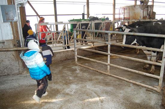 At Weis-Way Farm.
