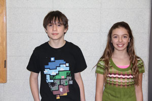 Kenny Horner and Zoe Shanaver. /Contributed photo