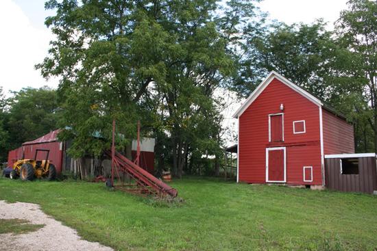 Linda Valentine shared this photo of the barn that burned today taken in 2006. /Linda Valentine photo