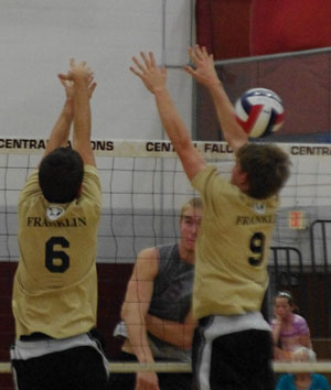 Karsten follows through on a kill./ David Thoss photo