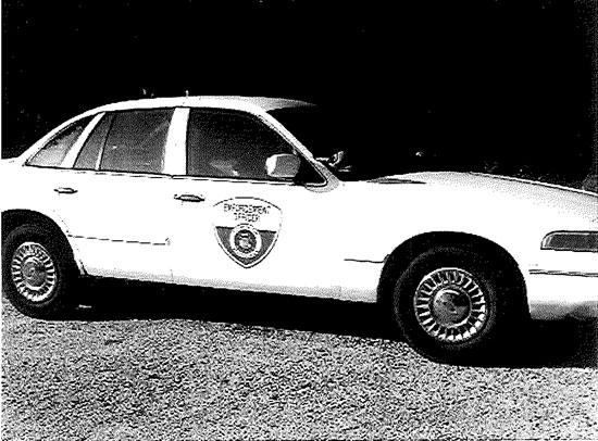 """Randall's 1997 Ford Crown Victoria 4 door auto """"Police Special."""" /submitted photo"""