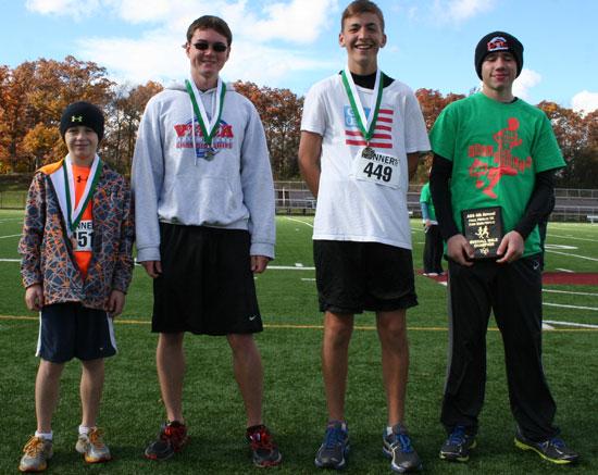 From left: Noah Bliss, Donny Ware(19:42), Sam Keller, Shane McNealy. /Nicolas Keller photo