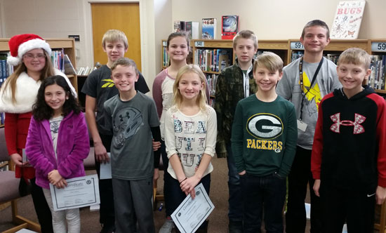 All grade levels representatives. /Submitted photos